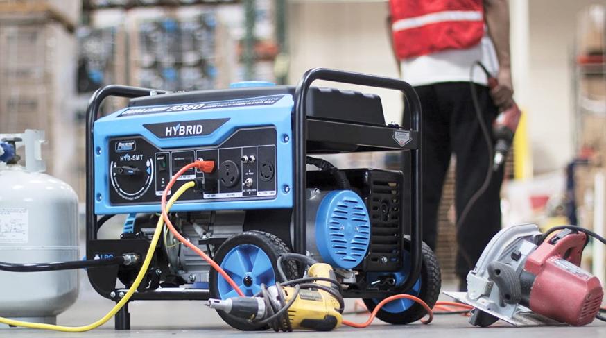 plug a generator